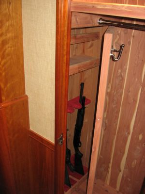 Weapons Storage in Secret Storage Compartments - Custom Smart Storage For Weaponry