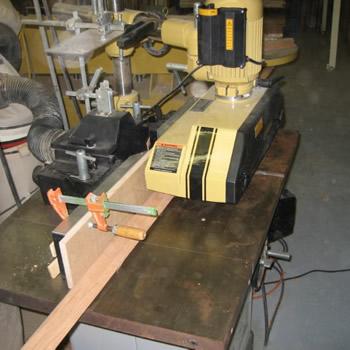 wood working machine by Dennis Boatworks