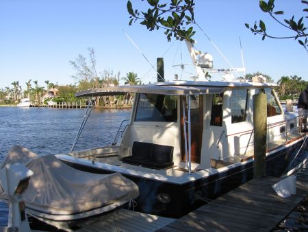 Image of a yacht's tender designed by Dennis Boatworks.