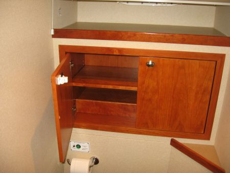 bathroom cabinet yacht installation