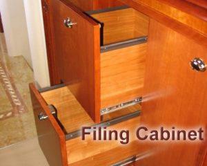 filing cabinet furniture design from Dennis Boatworks