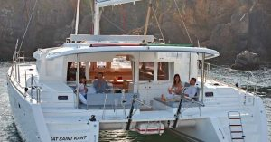 Catamaran-New-Lagoon-450-mooring