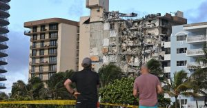 Image Credit: Miami Herald Surfside condo collapse