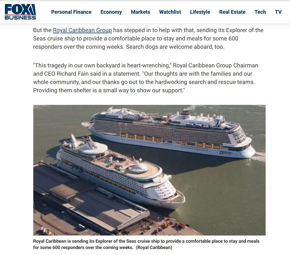 Fox News Royal Carribean